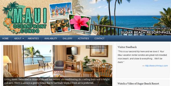 Best Maui Ocean Front Condo